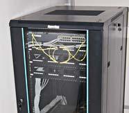 Коммутационный узел, напольный шкаф