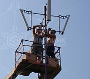 Установка антенн беспроводной сети