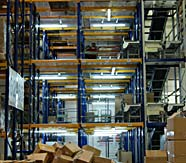 складские помещения, конвейер