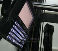 оборудование для штрихового кодирования на погрузчике