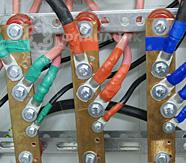 монтаж электросети серверной