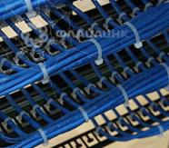 монтаж кабеля в сервере