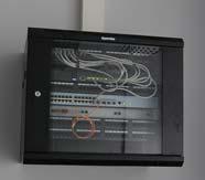 Коммутационный узел, настенный шкаф Hiperline