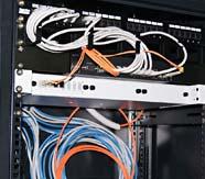 Коммутационный узел, монтаж сети
