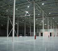 складские помещения, до установки стелажей