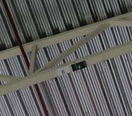 Беспроводные точки доступа, монтаж под крышей склада