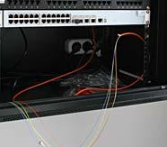 волоконно оптические линии связи, коммутационный настенный шкаф