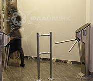 турникеты на проходной в офисе