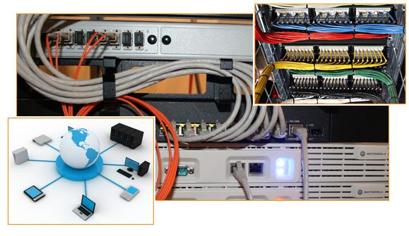 Согласно этой схеме построения локальной сети, каждый компьютер (узел) присоединен к сети посредством отдельного...